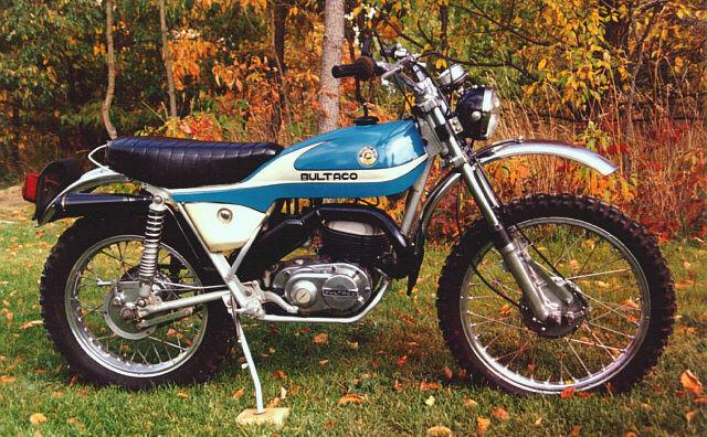 1976 Bultaco Alpina M166 | Adventure Rider